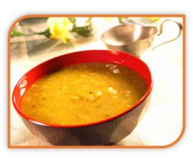 Safran-Dip mit Mango